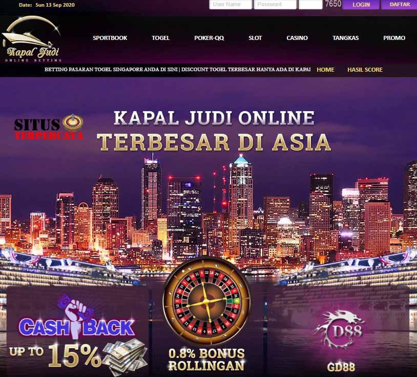 KAPALJUDI Situs Judi Bola dan Casino Terpercaya